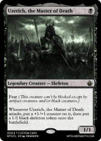 Uzerich, the Master of Death