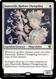 Kamorrah, Radiant Changeling