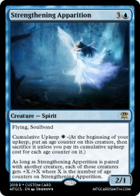 Strengthening Apparition