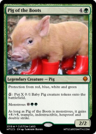 Pig of the Boots