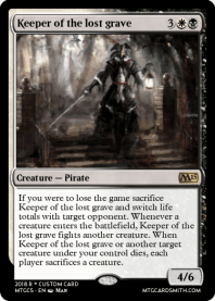 Keeper of the lost grave