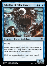 Beholder of Elder Secrets