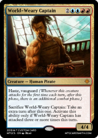 World-Weary Captain