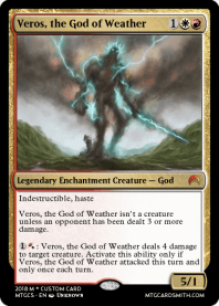 Veros, the God of Weather