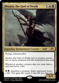 Orzaru, the God of Death