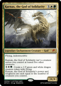 Karnax, the God of Solidarity