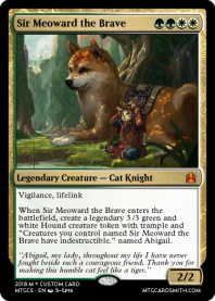 Sir Meoward the Brave