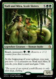Nadi and Mira, Scale Sisters