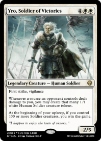 Yro, Soldier of Victories