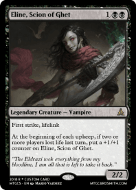 Eline, Scion of Ghet