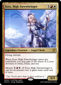 Zora, High Dawnbringer