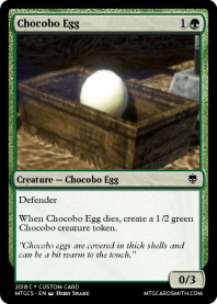 Chocobo Egg