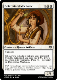 Determined Mechanic
