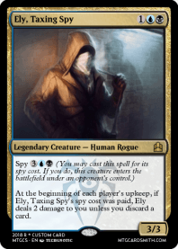 Ely, Taxing Spy