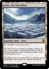 Aclye, the Frost Maze