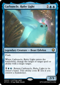 Carbuncle, Ruby Light
