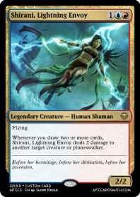 Shirani, Lightning Envoy