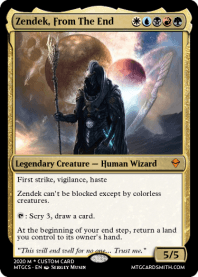Zendek, From The End