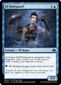 Elf Bodyguard