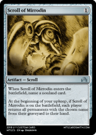 Scroll of Mirrodin
