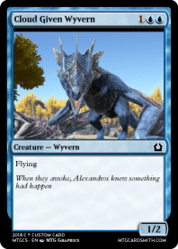 Cloud Given Wyvern