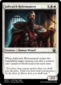 Jailwatch Heiromancer