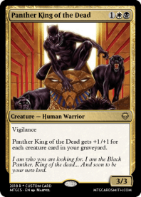 Panther King of the Dead