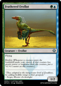 Feathered Evollut