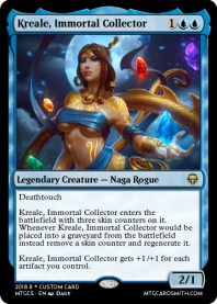 Kreale, Immortal Collector