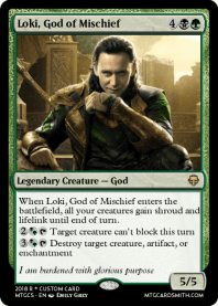 Loki, God of Mischief