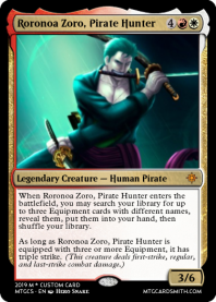 Roronoa Zoro, Pirate Hunter