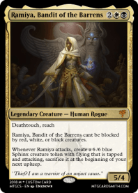 Ramiya, Bandit of the Barrens