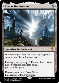 Planar Destruction