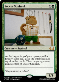 Soccer Squirrel