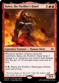 Halea, the Purifier's Hand