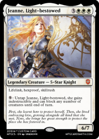 Jeanne, Light-bestowed