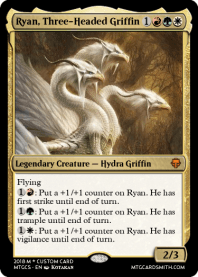 Ryan, Three-Headed Griffin