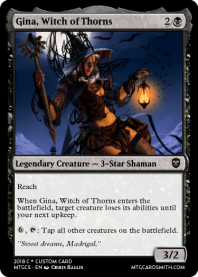 Gina, Witch of Thorns