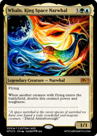 Whaln, King Space Narwhal