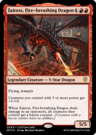 Zaiross, Fire-breathing Dragon