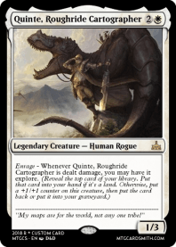Quinte, Roughride Cartographer