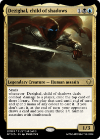 Dezighal, child of shadows