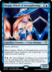 Megan, Witch of Strengthening