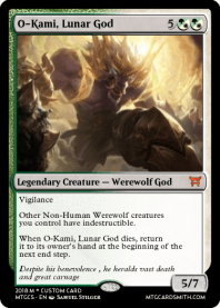 O-Kami, Lunar God