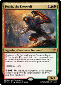 Fenrir, the Everwolf