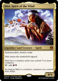 Sitsi, Spirit of the Wind