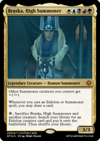 Braska, High Summoner
