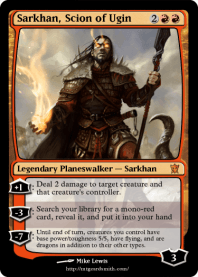 Sarkhan, Scion of Ugin