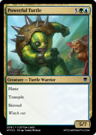Powerful Turtle
