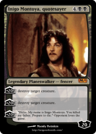 Inigo Montoya, quotesayer